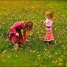 Innocence and Bouquets by andonsea