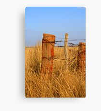 Standing for ages Canvas Print