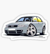 Audi S4 (B5) Silver Sticker