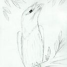 Tawny Frogmouth Sketch by georgiegirl