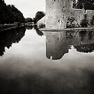 Bishops Palace at Wells, Somerset by Victoria Ashman
