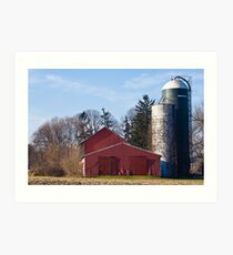 Corner Farm Art Print