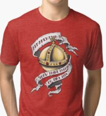 The Holy Hand Grenade Tri-blend T-Shirt