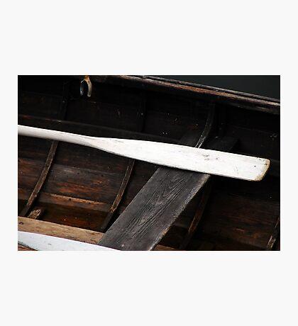 Canoe Paddle Photographic Print