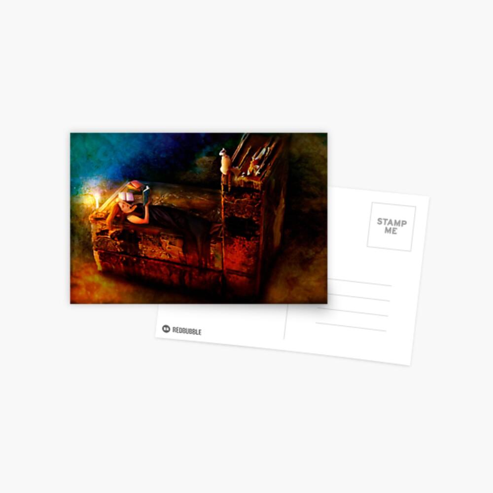 Ex Libris Postkarte