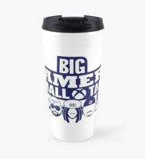 Big Gamers Small Talk Travel Mug