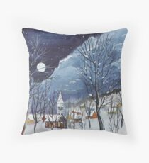 Post Storm Front Throw Pillow