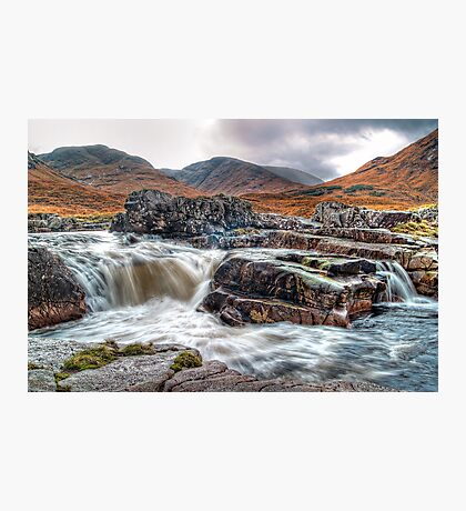 Waterfall On The River Etive Photographic Print
