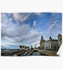 Liverpool Waterfront Poster