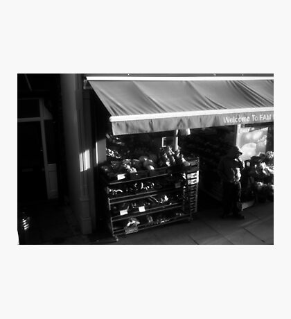 LONDON: VIEWS FROM THE TOP DECK PT 13: WELCOME Photographic Print