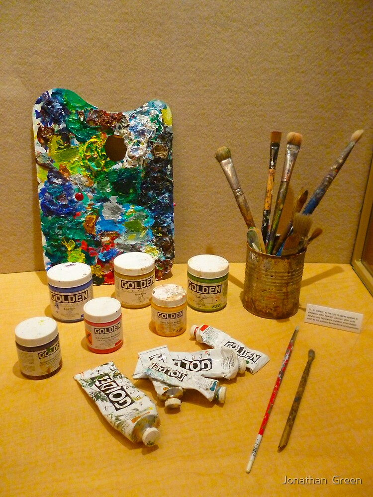 Tools Of The Artist By Jonathan Green by Jonathan  Green