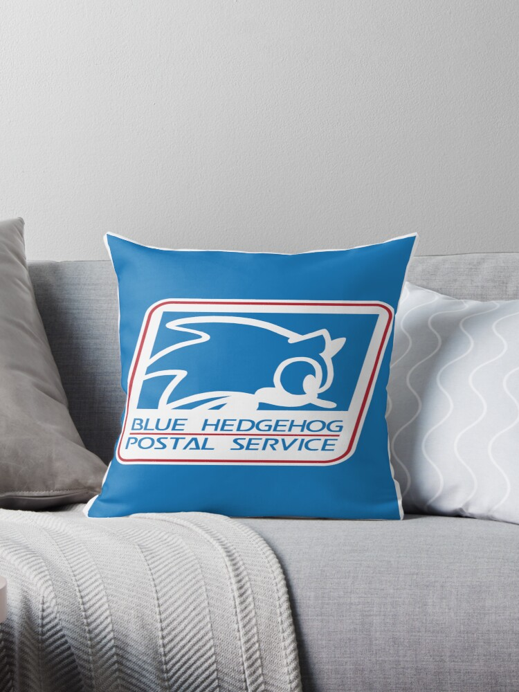 BLUE HEDGEHOG POSTAL SERVICE by DREWWISE