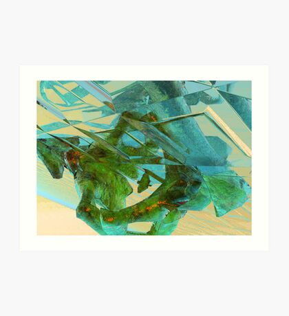 3d Fractal Art Print