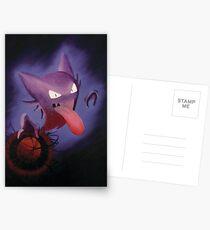 Pokemon - Haunter used Shadowball! Postcards