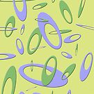 Retro Laminate One - Yellow by ubiquitoid