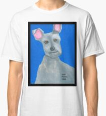 The Oil Pastel Scotty Dog by Julia Hanna Classic T-Shirt