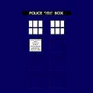 TARDIS by charliebuterfly