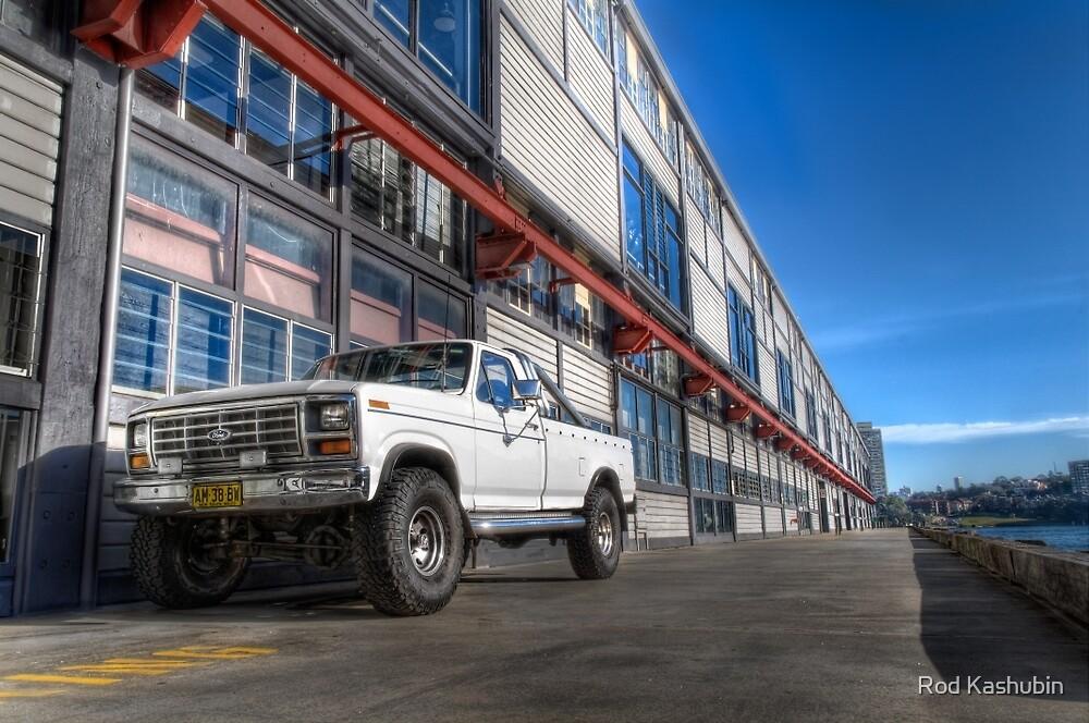 Ford Truck at Walsh Bay by Rod Kashubin
