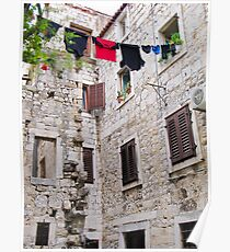 washing on line in Split Poster