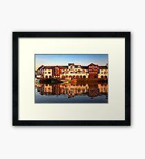Maryport Harbour 1 Framed Print