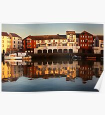 Maryport Harbour 2 Poster