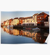 Maryport Harbour 3 Poster