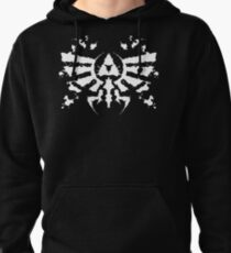 Hyrule Rorschach (white) Pullover Hoodie