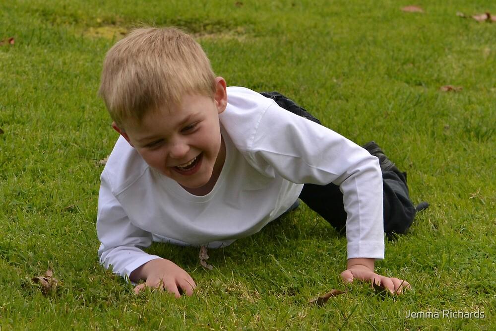Happy boy by Jemma Richards