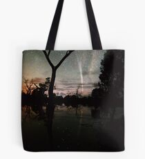 Comet Reflections 2 Tote Bag