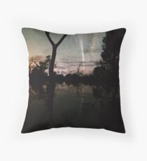 Comet Reflections 2 Throw Pillow