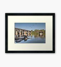 Blanchetown - Murray River Framed Print