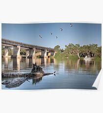 Blanchetown - Murray River Poster