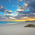 Home Beach - Nth Stradroke Is. Qld Australia by Beth  Wode