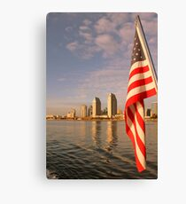 Patriot. Canvas Print