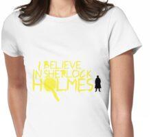 I Believe In Sherlock V.2 (Graffiti) Womens Fitted T-Shirt