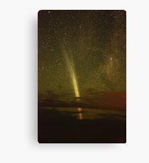 Magnificent Comet Lovejoy Canvas Print