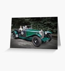 Bentley Mark VI Special 1948 Greeting Card