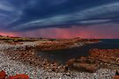 Sunset Thunderstorm at Nettley Bay by Garth Smith