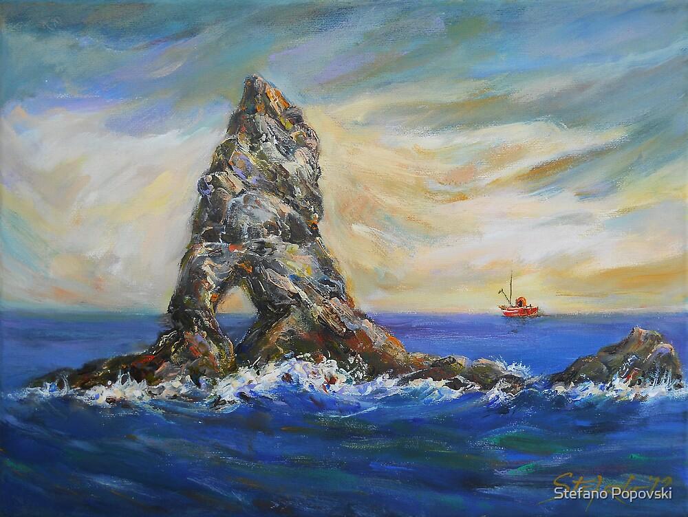 Colombretes Island by Stefano Popovski