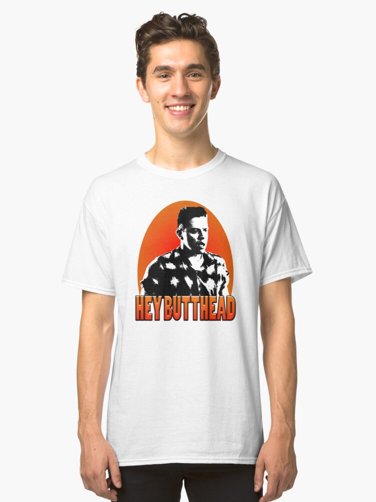 Hey Butthead Classic T-Shirt Front