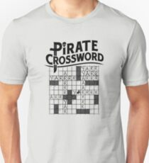 Pirate crossword T-Shirt