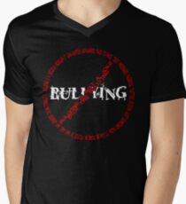 No Bullying Men's V-Neck T-Shirt