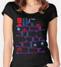 DONKEY TRON Women's Fitted Scoop T-Shirt