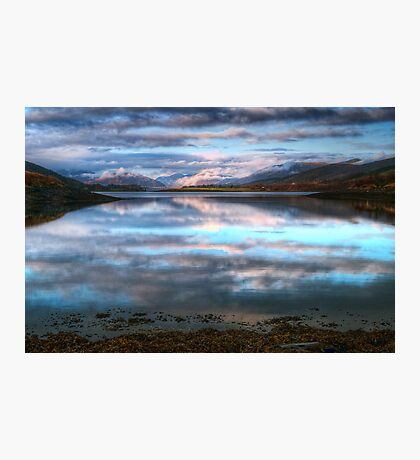 Morning Reflections On Loch Leven Photographic Print