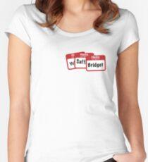 YoSafBridget Women's Fitted Scoop T-Shirt