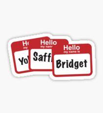 YoSafBridget Sticker