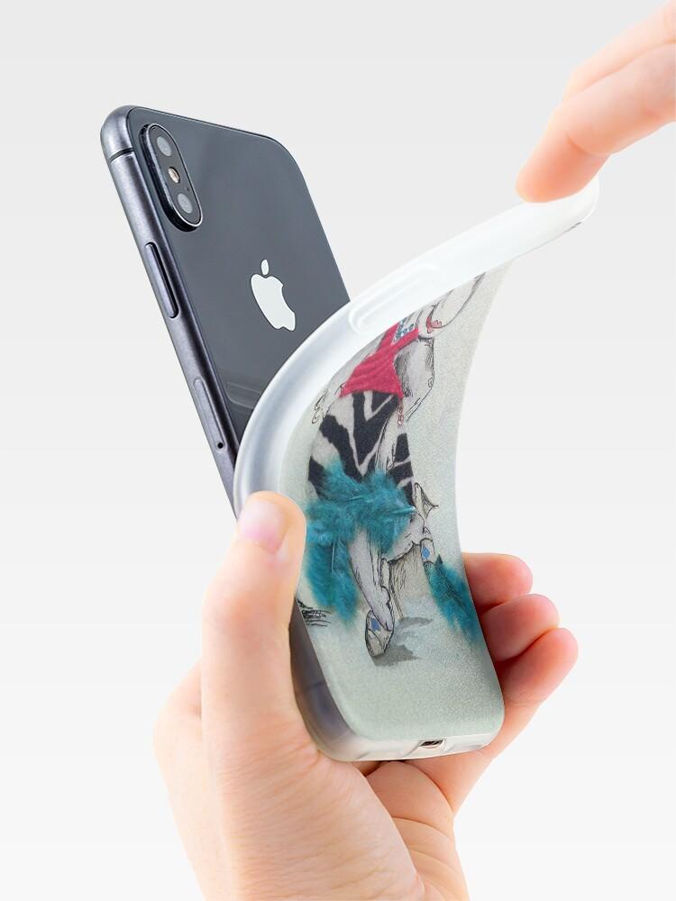 Alternative Ansicht von Hippo Dress up iPhone-Hülle & Cover