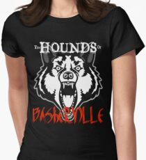 The Hounds of Baskerville! Womens Fitted T-Shirt