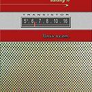 Transistor Radio - Galaxy II Red by ubiquitoid