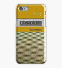 Transistor Radio - Galaxy II Gold iPhone Case/Skin